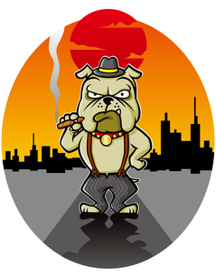 Gang Dogのイラスト素材 [FYI03129782]
