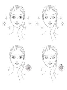 女性の顔 正面の写真素材 [FYI03129788]