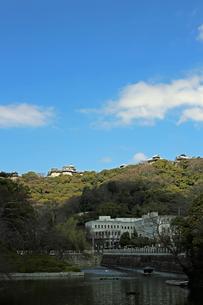 堀之内からの松山城の写真素材 [FYI03129882]