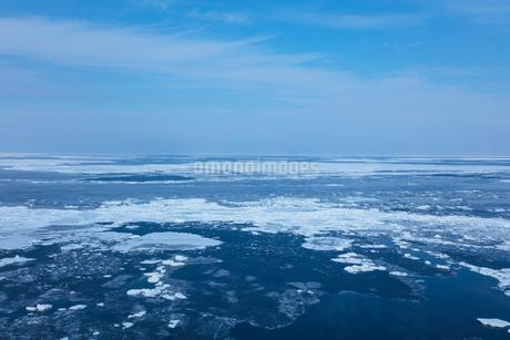 オホーツク海の流氷の写真素材 [FYI03129984]
