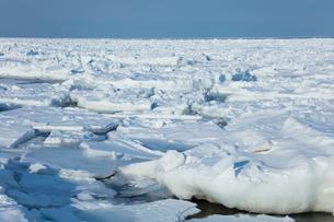 オホーツク海の流氷の写真素材 [FYI03130167]