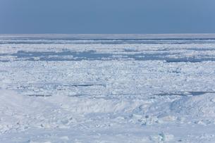 オホーツク海の流氷の写真素材 [FYI03130170]