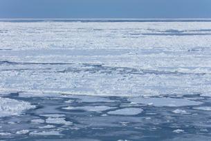 オホーツク海の流氷の写真素材 [FYI03130173]