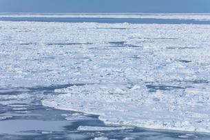 オホーツク海の流氷の写真素材 [FYI03130178]