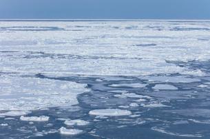 オホーツク海の流氷の写真素材 [FYI03130179]