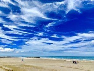 夏の海岸の写真素材 [FYI03130897]