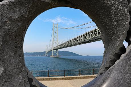 橋の向こうは淡路島の写真素材 [FYI03130911]