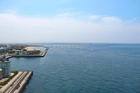 明石海峡大橋から眺める舞子の海の写真素材 [FYI03130926]