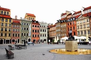 ポーランド ワルシャワの写真素材 [FYI03131043]