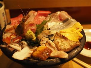 北陸・海鮮丼(正面)の写真素材 [FYI03131072]