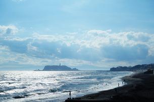 午後の江ノ島の写真素材 [FYI03131105]
