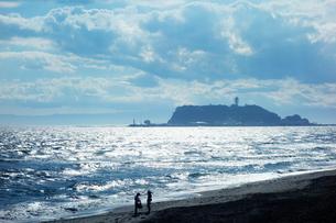 午後の江ノ島の写真素材 [FYI03131108]