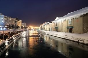 小樽雪あかりの路の写真素材 [FYI03131826]