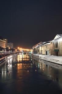小樽雪あかりの路の写真素材 [FYI03131827]