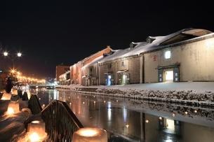 小樽雪あかりの路の写真素材 [FYI03131829]