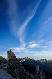 イルカ岩と槍ヶ岳の写真素材 [FYI03132261]