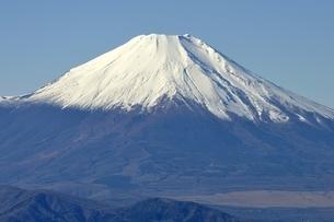 丹沢 丹沢山からの富士山の写真素材 [FYI03132423]