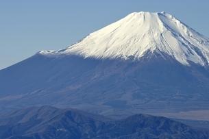 丹沢山地 丹沢山よりの富士山の写真素材 [FYI03132455]