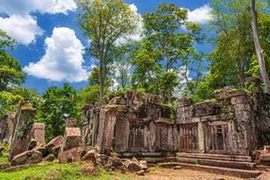 カンボジア・コーケー遺跡群の風景・1の写真素材 [FYI03132516]
