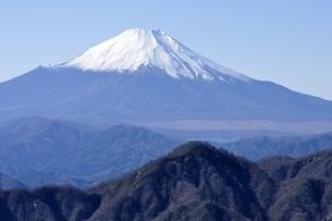 日本百名山の富士山眺望の写真素材 [FYI03132520]