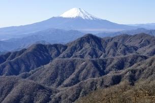 日本百名山の富士山眺望の写真素材 [FYI03132524]