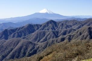 日本百名山の富士山眺望の写真素材 [FYI03132525]