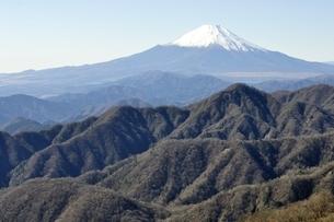 日本百名山の富士山眺望の写真素材 [FYI03132527]