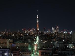 東京スカイツリーの写真素材 [FYI03132656]