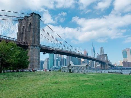 Brooklyn Bridge 2019 Aug.の写真素材 [FYI03132767]