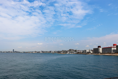 海辺の街の写真素材 [FYI03132772]