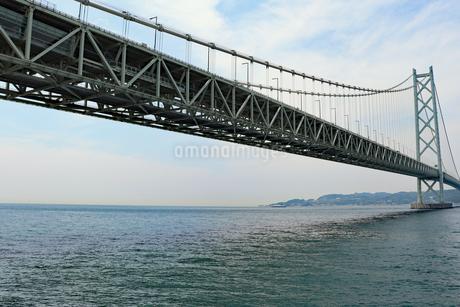明石海峡大橋の写真素材 [FYI03132956]