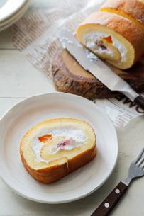 ロールケーキの写真素材 [FYI03133178]