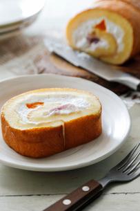 ロールケーキの写真素材 [FYI03133179]