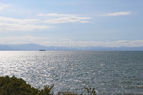 午後の琵琶湖の写真素材 [FYI03133386]