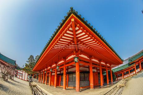 京都・平安神宮の写真素材 [FYI03133658]