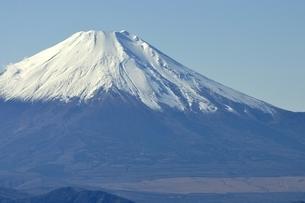 丹沢 不動ノ峰からの富士山の眺望の写真素材 [FYI03133958]