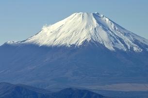 丹沢 不動ノ峰からの富士山の眺望の写真素材 [FYI03133960]