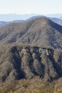 丹沢 不動ノ峰より檜洞丸の写真素材 [FYI03133968]