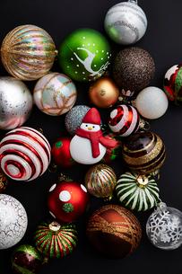 クリスマスデコレーションの写真素材 [FYI03133975]