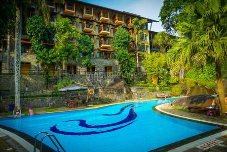 ラグジュアリーホテルのイメージ(スリランカ・キャンディー)の写真素材 [FYI03134257]