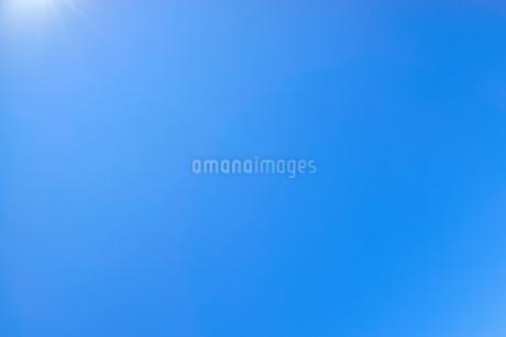 青空背景素材の写真素材 [FYI03135134]
