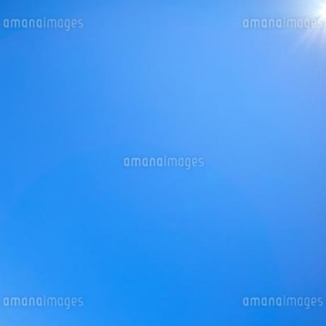 青空背景の写真素材 [FYI03135135]