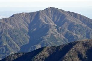 丹沢の大山の写真素材 [FYI03135288]