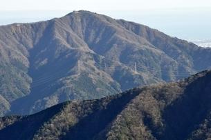 丹沢の大山の写真素材 [FYI03135289]