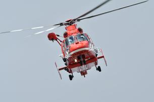 千葉市の消防ヘリコプターの写真素材 [FYI03135979]