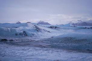 アイスランドの氷山のイメージの写真素材 [FYI03135987]