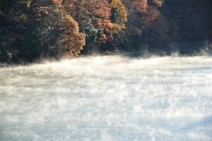 秋の湖の写真素材 [FYI03136058]