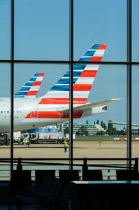 アメリカン航空 AA 777の写真素材 [FYI03136168]