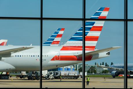 アメリカン航空 AA 777の写真素材 [FYI03136169]