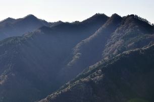 丹沢 仏果山と高取山の写真素材 [FYI03136541]